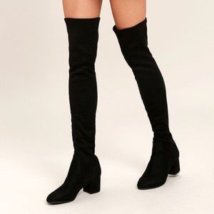Steve Madden Over the Knee Isaac Boots